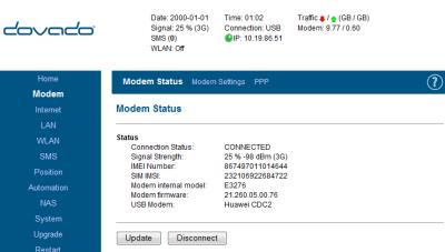 Huawei E3276-Dovado 4GR