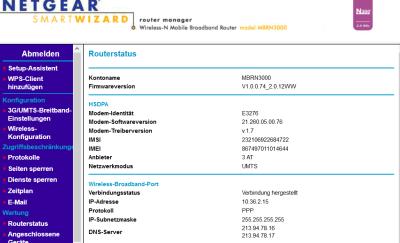 Huawei E3276-Netgear MBRN3000