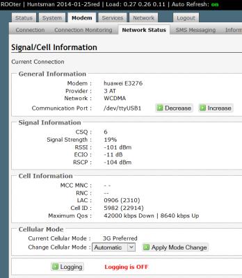 Huawei E3276-TP-Link TL-WR1043N ND v2