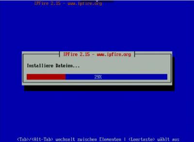 IPFire Installation