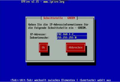 IPFire Green-IP
