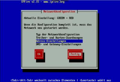 IPFire OK-Netzwerk