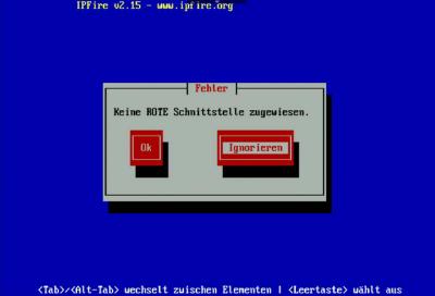 IPFire Rot-Netzwerk