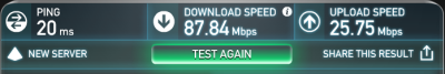 ASUS RT-N65U-LTE4 speed